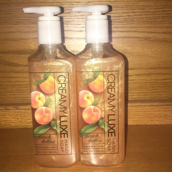 Bath Body Works Other Peach Bellini Hand Soap Poshmark